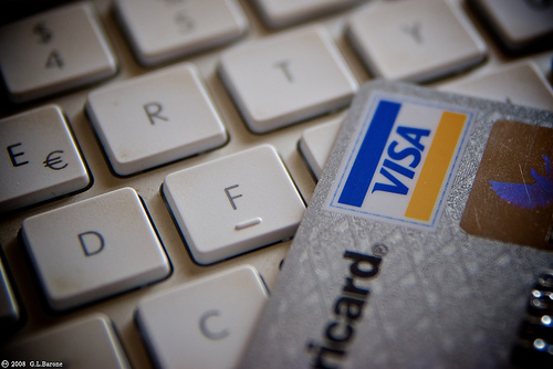 Credit Card with keyboard
