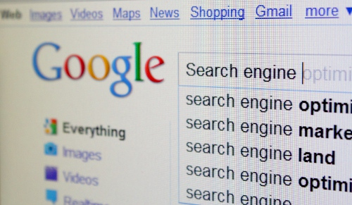 Search Engine Optimization - Google Results