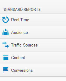 Standard Reports in Google Analytics