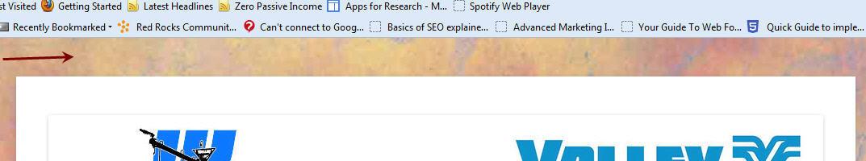 remove margin above header for wordpress website