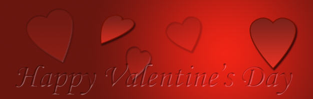 photoshop valentine background for wordpress slider