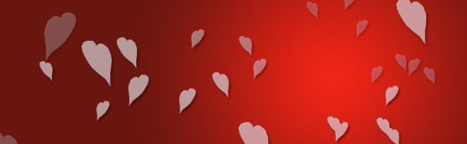 photoshop background hearts for wordpress slider